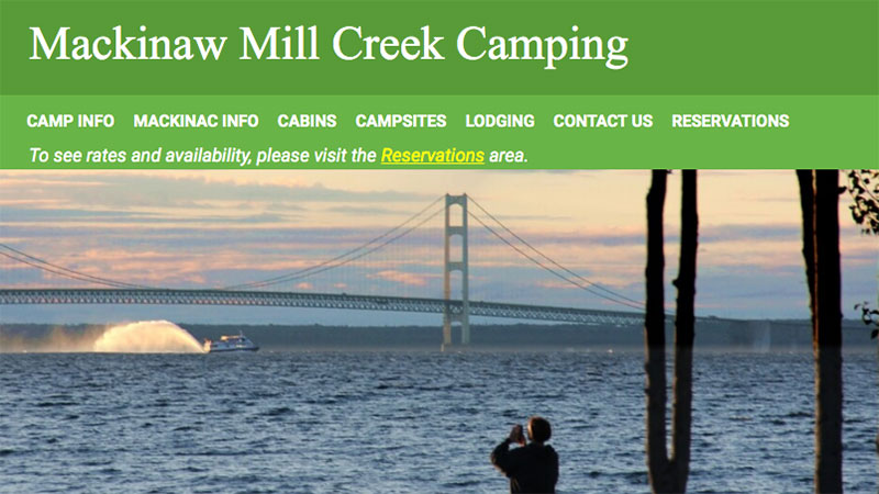 Family Camp - Mackinaw Mill